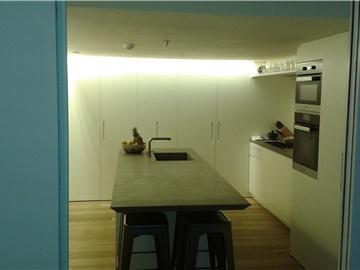 cucina laccata opaca
